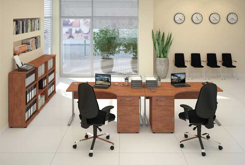 different types of office desks qualification