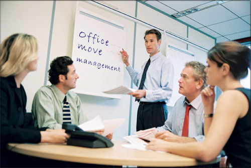 Management tasks and activities, planning, organizing, advising.
